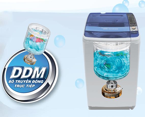 DDM Inverter-Công nghệ giặt giũ mới!